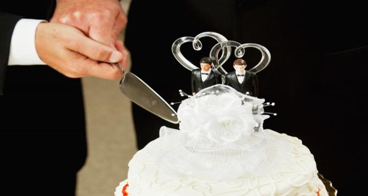 Same-Sex Wedding Cake